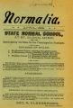 The Normalia, 1899-04