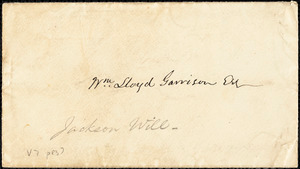 Letter from Edmund Jackson to William Lloyd Garrison, May 10th, 1868
