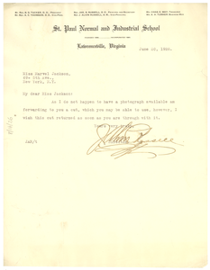 Letter from James S. Russell to Crisis