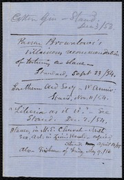 Memorandum and newspaper clipping] [manuscript