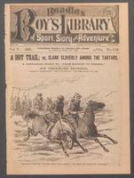 "A hot trail, or, Clark Cloverly among the Tartars: a companion story to ""From Moscow to Siberia"""