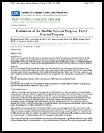 Evaluation of the healthy schools program : Part I. Interim progress