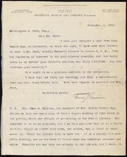 Letter to] Dear Mr. Ford [manuscript