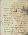 William H. Crawford letter to D. B. Mitchell, 1822