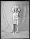 Dakota man, U. S. Indian School, St Louis, Missouri 1904