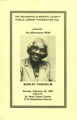 An Afternoon with Shirley Chisholm