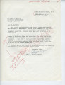 Betty C. Carter to Mr. James H. Meredith (30 September 1962)