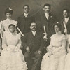 James A. Henry and graduating class