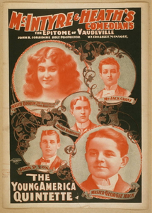 Thumbnail for McIntyre & Heath's Comedians the epitome of vaudeville.