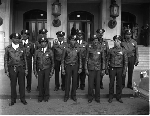 Group photograph of police officers