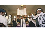 Saturday Service at an Ethiopian Synagogue