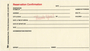 Flagg Resort reservation confirmation card
