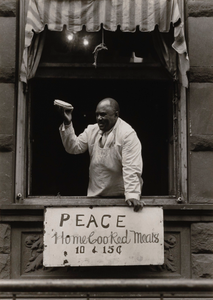 Cook at Father Divine Mission, Harlem