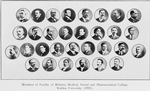 Members of Faculty of Meharry Medical, Dental, and Pharmaceutical College, Walden University, 1915