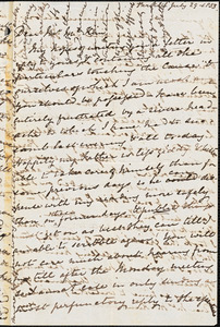 Letter from Mary Anne Estlin, [Bristol, England], to James Miller M'Kim, 1853 July 29