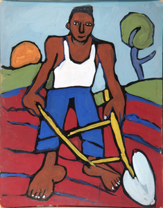 Man with Plow