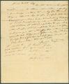 Letter from James Gordon to James Dellet in Claiborne, Alabama.