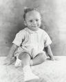 Portrait of John Estes Jr. as a baby