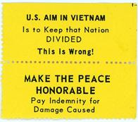 Night Raiders--U.S. Aim In Vietnam Is To Keep that Nation Divided--This Is Wrong! Make The Peace Honorable--Pay Indemnity For Damage Caused