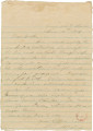 Letter from James A. Hall in camp at Dalton, Georgia, to his father, Bolling, in Alabama.