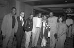 Black Women's Forum event speakers group portrait, Los Angeles, 1991