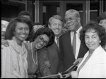 California African American Museum ribbon cutting, Los Angeles, 1984