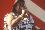 Candy Martin performing at the 1989 Alabama Folklife Festival in Birmingham, Alabama.