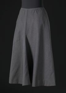 Grey wool skirt designed by Arthur McGee