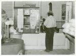 Post office inside plantation store, Mileston, Mississippi Delta, November 1939