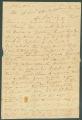 Letter from Frederick Miller to James Dellet in Claiborne, Alabama.
