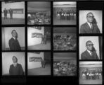 Set of negatives by Clinton Wright including Westside class, Town Tavern and Bartenders, Las Vegas Dodge, Del Guy, Joe Haynes with trophies, 1967