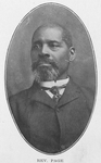 Rev. Page; Of the Baptist Church, Cincinnati, O.; A successful pastor