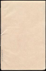 Diary by Deborah Weston, [Weymouth and Boston, Mass.], January 1, 1835, Thursday, [through Nov. 18, 1835, Wed.]