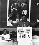 Ali preaches
