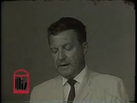 WSB-TV newsfilm clip of James H. Gray, newspaper editor, condemning the methods of civil rights activists in Albany, Georgia, 1962 July 18