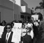 Protest for voting rights, Los Angeles, ca. 1965