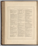 (Text Page) Chronological History of the Great Rebellion (American Civil War). (Continued) Johnson's New Illustrated (Steel Plate) Family Atlas, With Physical Geography, And With Descriptions Geographical, Statistical, And Historical ... By Richard Swainson Fisher, M.D. ... Maps Compiled, Drawn, And Engraved Under The Supervision Of J.H. Colton And A.J. Johnson. New York: Johnson And Ward, Successors To Johnson And Browning (Successors To J.H. Colton And Company,) No. 113 Fulton Street. 1865. Entered ... One Thousand Eight Hundred and Sixty-four, by A.J. Johnson ... New York Text Page 104: Chronology of the American Civil War (continued)