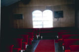 Pikeville Chapel AME Zion Church: interior view from chancel
