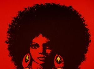 War Queen blacklight poster