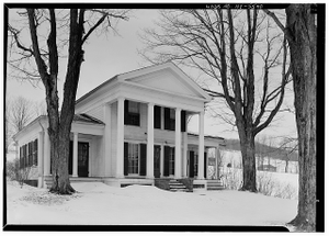 Cyrus Gates House, Old Nanticoke Road, Maine, Broome County, NY