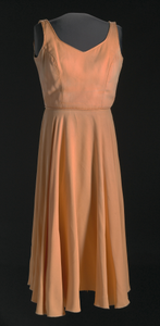 Costume dress for Lady in Orange from for colored girls... on Broadway