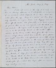 Letter to] Dear Helen [manuscript