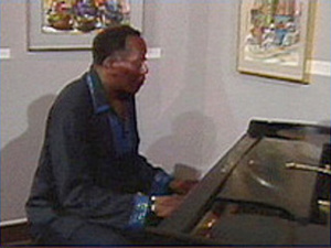 "Pianist Randy Weston performs ""The Healers"""