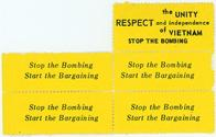 Night Raiders--Stop The Bombing The Unity Respect And Indepence of Vietnam--Start The Bargaining