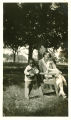 """Nell Vore and Freddie [Jackson], 1924-1925. """"Nell Vore is Music Director at Southland/a Richmond Friend."""""""