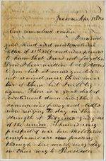 Letter, N. H. Boyd to Eudora Hobbs; 4/18/1861