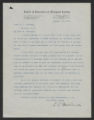 General Correspondence of the Director, Last Name M, 1915