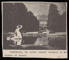 Althea Hurst scrapbook, 1938. Page 81. Postcards, set 2 Postcards, set 2