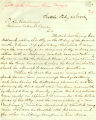 Mayor Henry L. Yesler letter to Governor Watson C. Squire concerning ending martial law imposed in Seattle as a result of the anti-Chinese riots, February 22, 1886