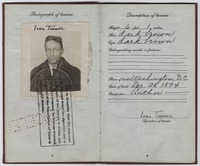 Jean Toomer's passport